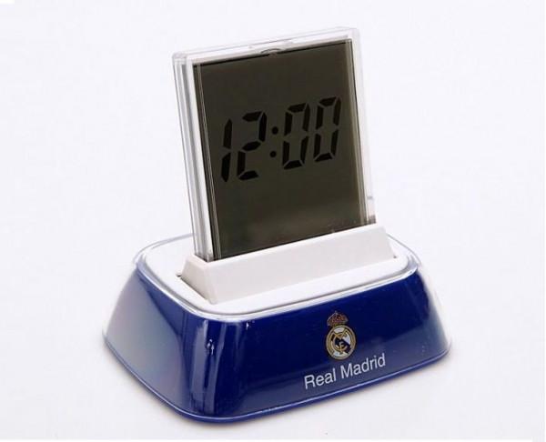 Reloj despertador digital del Real Madrid