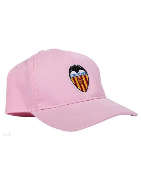 Gorra del Valencia CF de color rosa juvenil y adulto