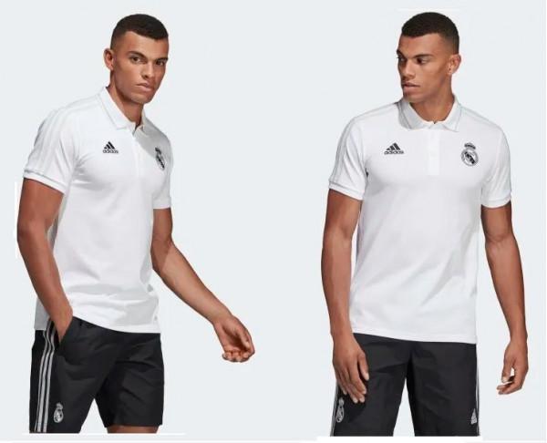 Polo blanco adidas Real Madrid adulto