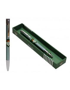 Bolígrafo metálico Real Betis en caja de regalo