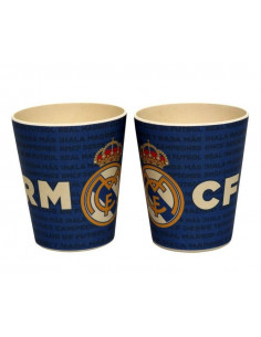Vaso de bambú Real Madrid