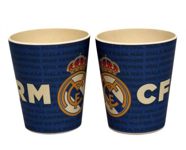 Vaso de bambú Real Madrid