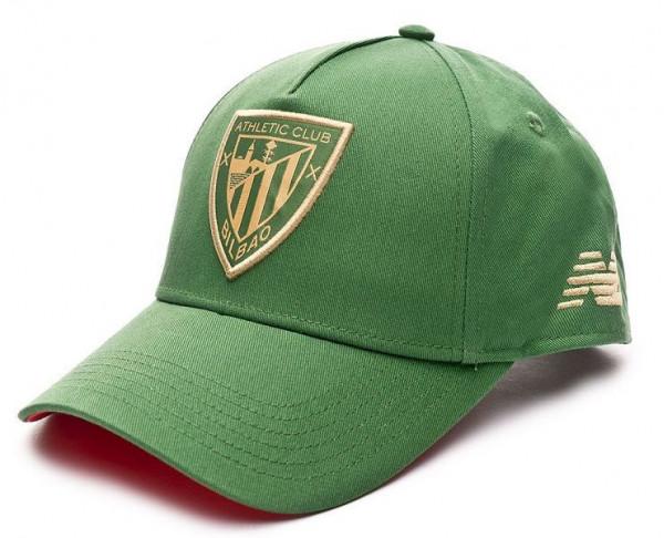 Gorra New Balance juvenil y adulto Athletic Club verde