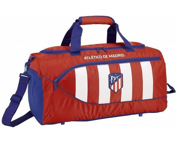 Bolsa grande de deporte rojiblanca Atlético de Madrid