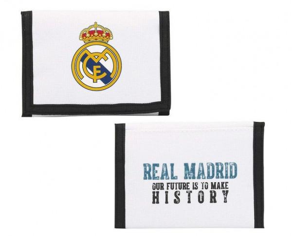 Cartera billetero Real Madrid Nuestro Futuro es Hacer Historia