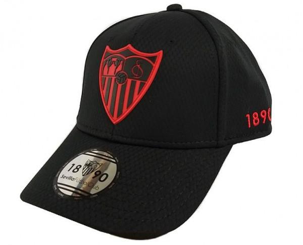 Gorra negra Sevilla FC 1890 juvenil y adulto Premium