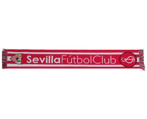 Bufanda roja y blanca Sevilla FC Corporation
