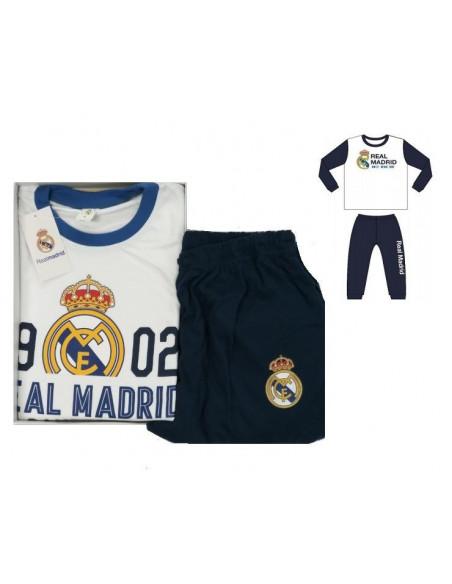 Pijama infantil de manga larga Real Madrid Campeones