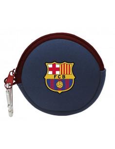 Monedero redondo de neopreno FC Barcelona