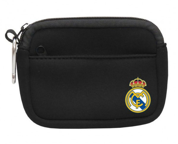 Monedero de neopreno doble bolsillo Real Madrid