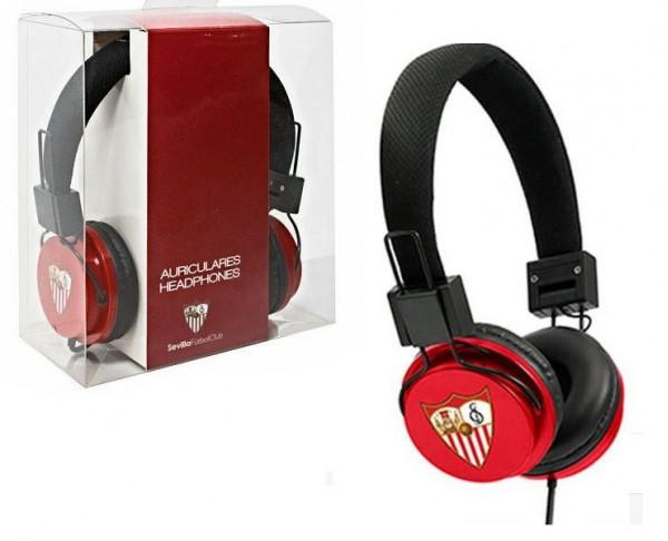 Auriculares casco stéreo Oficial Sevilla FC