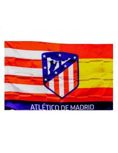 Bandera Atlético de Madrid con los colores de España