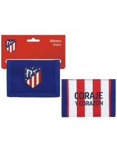 Billetero con monedero Atlético de Madrid Coraje y Corazón