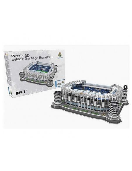 Puzzle maqueta estadio S Bernabeu 3D del Real Madrid