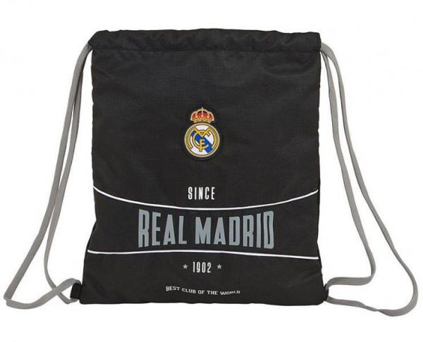 Saco mochila Gymnasio Ral Madrid black Best Club World