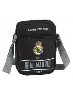 Bandolera Real Madrid tres departamentos Black