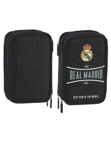 Estuche tres pisos Real Madrid 41 piezas escolares