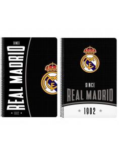 Cuaderno tamaño folio Real Madrid 80 hojas Since