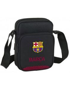 Bolso bandolera FC Barcelona 2020 negro y grana
