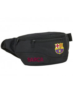 Bolso riñonera juvenil y adulto FC Barcelona Black