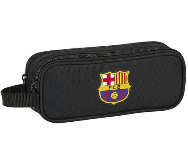 Estuche tres departamentos FC Barcelona Black 2020