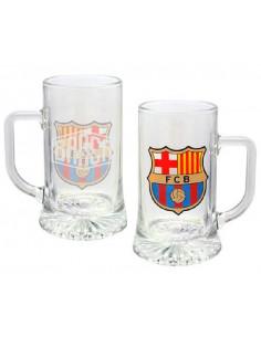 Jarra grande de cristal FC Barcelona Barca