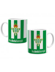 Taza de porcelana del Real Betis Balompié