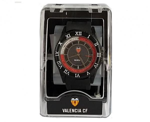 Reloj de pulsera Valencia CF correa silicona caballero sport