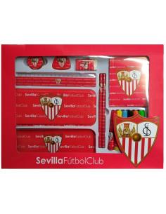 Conjunto escolar de regalo catorce piezas Sevilla FC