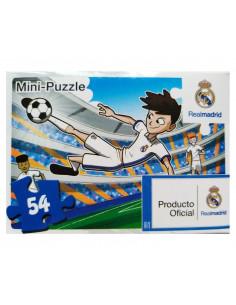 Mini puzzle infantil 54 piezas del Real Madrid