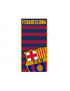 Toalla de baño y playa FC Barcelona azulgrana
