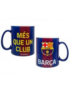 Taza de porcelana grande XXL FC Barcelona Mas que un Club