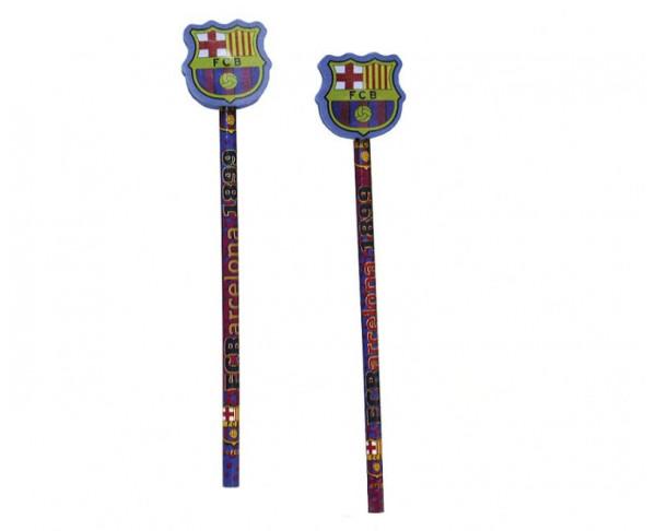 Lapicero con goma de borrar del FCBarcelona
