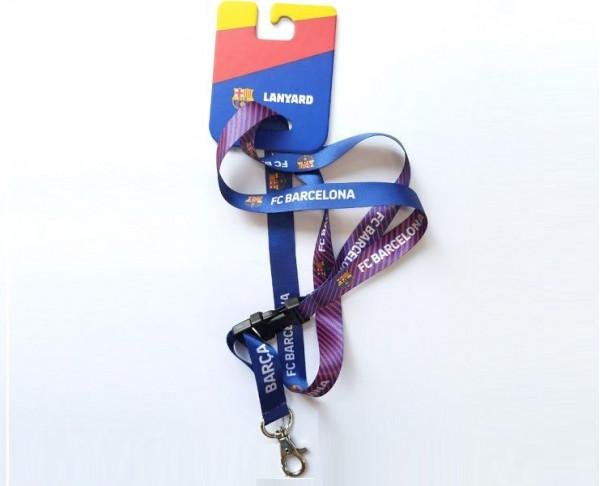 Lanyard cuelga cosas del FC Barcelona blaugrana