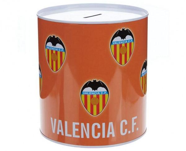Hucha metálica grande del Valencia CF