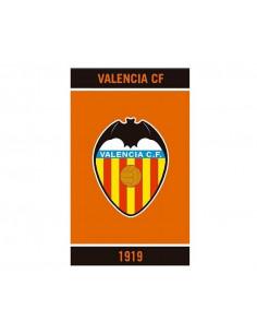 Toalla gigante de algodón naranja Valencia CF