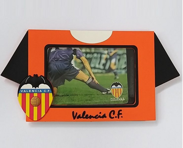 Portafotos horizontal Valencia CF