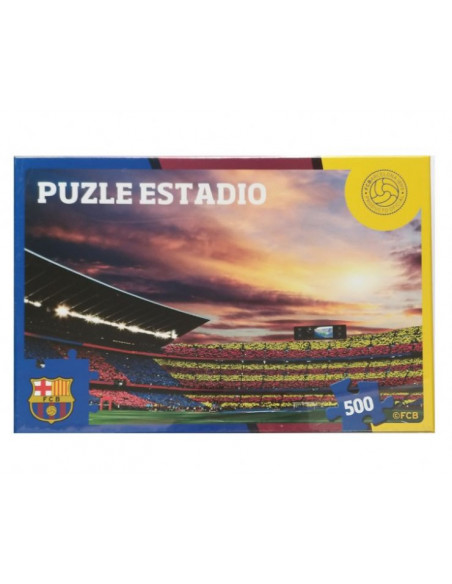 Puzzle 500 piezas Estadio Nou Camp FC Barcelona