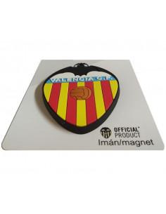 Imán con relieve 3D escudo Valencia CF