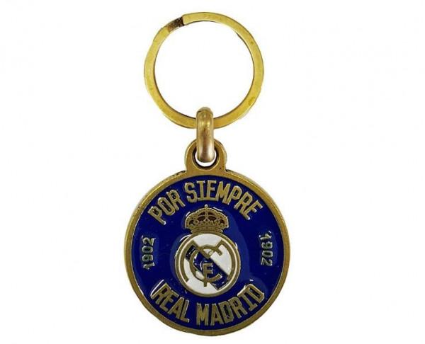 Llavero redondo Real Madrid Por Siempre Real Madrid