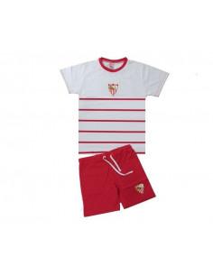 Pijama manga corta de verano Sevilla FC infantil