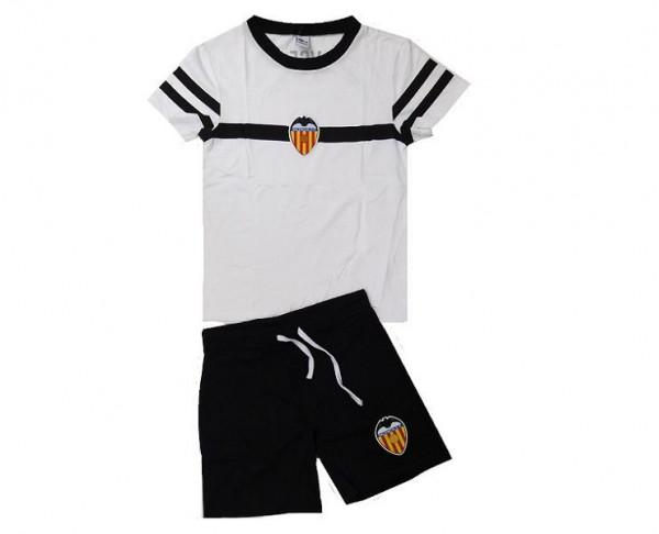 Pijama infantil Valencia CF de manga corta