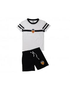 Pijama Valencia CF de manga corta adulto