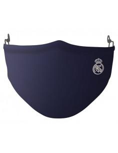 Mascarilla reutilizable Real Madrid 40 lavados infantil azul