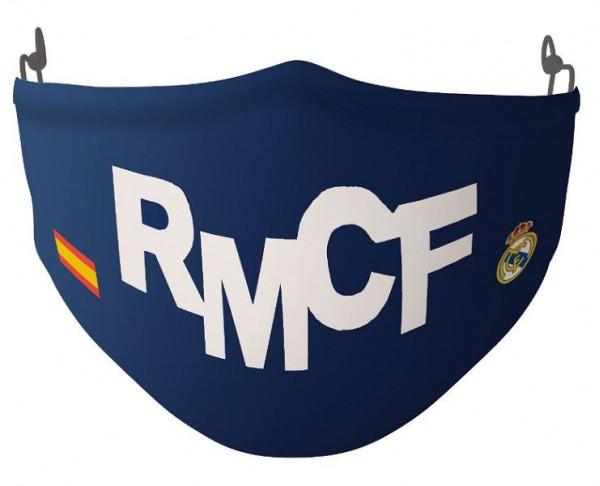 Mascarilla reutilizable 40 lavados Real Madrid España adulto