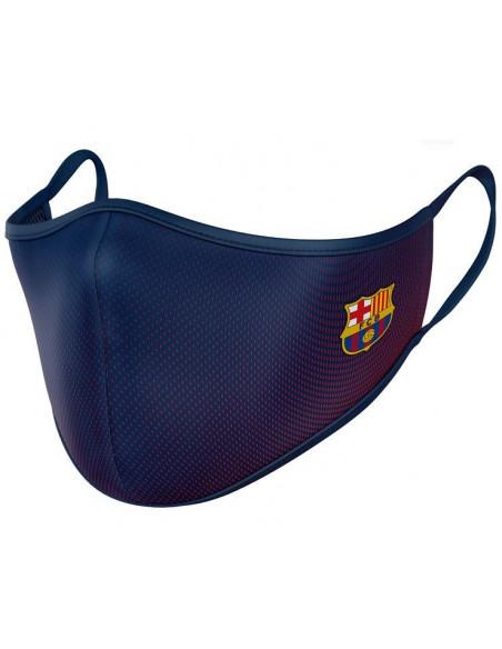 Mascarilla reutilizable 40 lavados FC Barcelona adulto