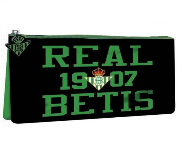 Estuche portatodo grande Real Betis con dos departamentos