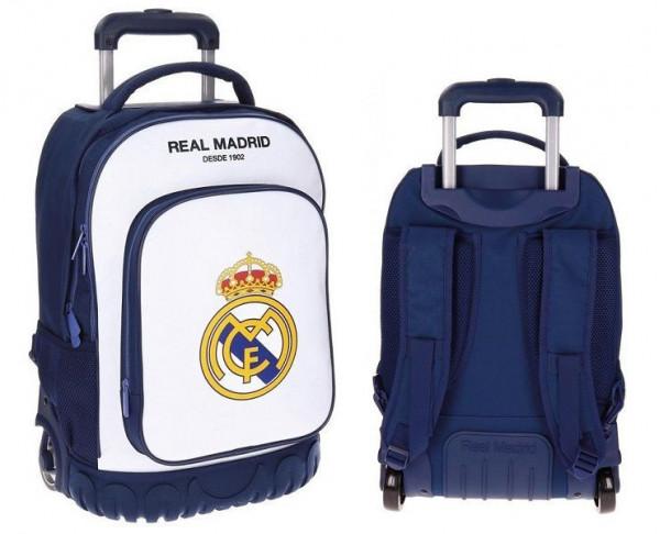 Maleta trolley compac grande del Real Madrid