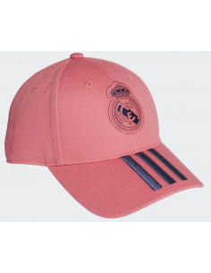 Gorra infantil Real Madrid de color rosa adidas 2020-21