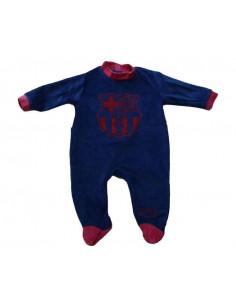 Pijama pelele para bebes Oficial FC Barcelona